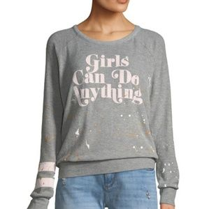 Chaser Brand Girls Can do..  Long sleeve NWT
